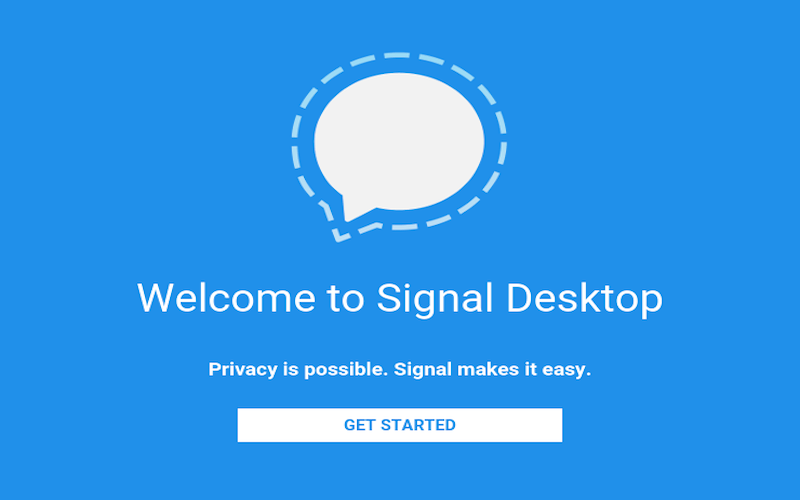 Signal Private Messenger for Desktop (Chrome)