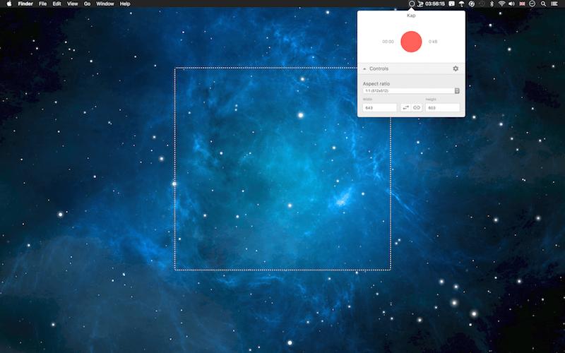 Kap Open Source Screen Recording App for macOS/OS X