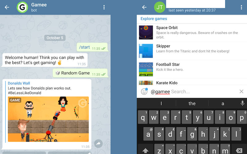 How to Play Games in Telegram