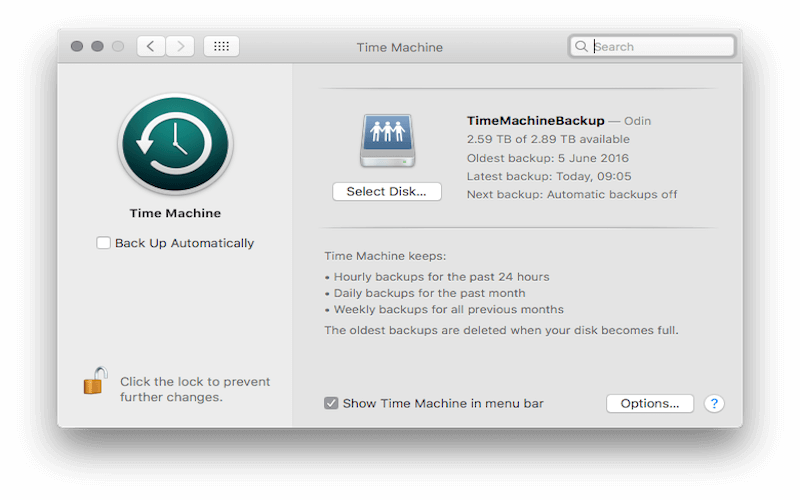 How to Remove Time Machine Backups from Trash OS X/macOS